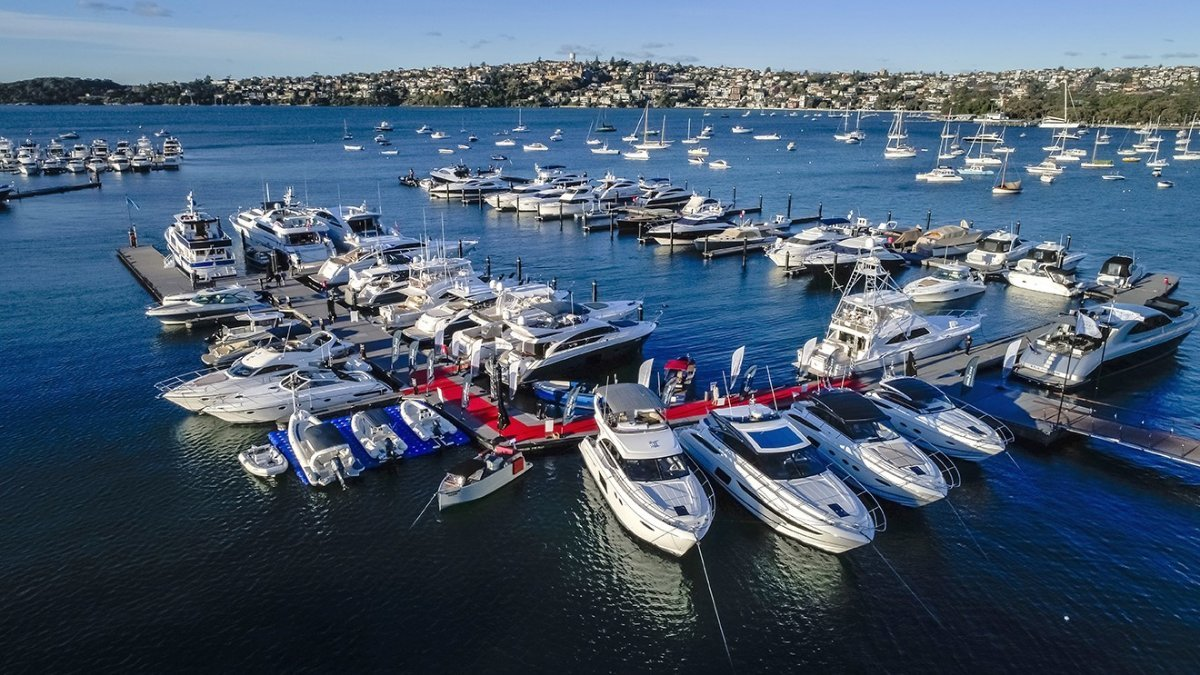 Luxury Berths available at Rose Bay Marina, Sydney