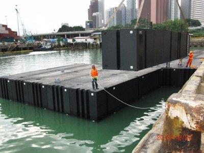 RigiFloat Modular Pontoon Barge