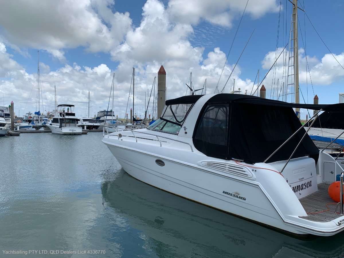 Mustang 3800 LE Sportscruiser Is a magnificant vessel