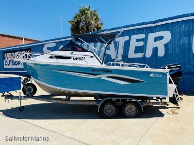 Quintrex 600 Offshore Awesome Offshore Performer!!