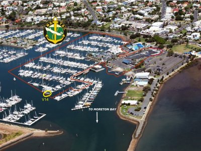 15 mtr MARINA BERTH MANLY HARBOUR