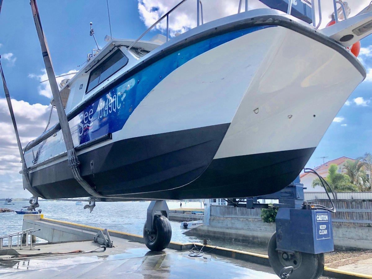 Cougar Cat Charter Fishing Vessel Hardtop