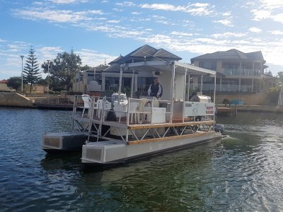Custom Pontoon *** THE PARTY BARGE *** $29,900 ***