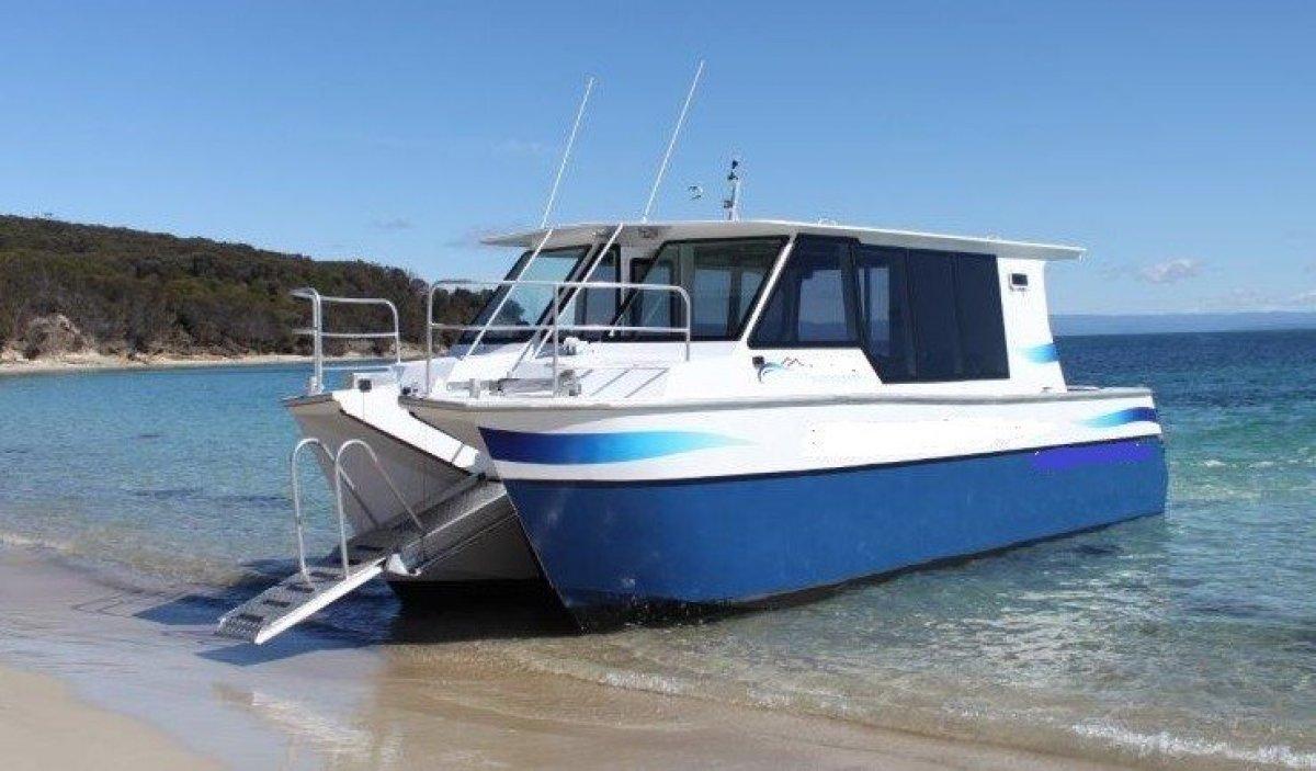 Denis Walsh Custom 10m Auminium Catamaran