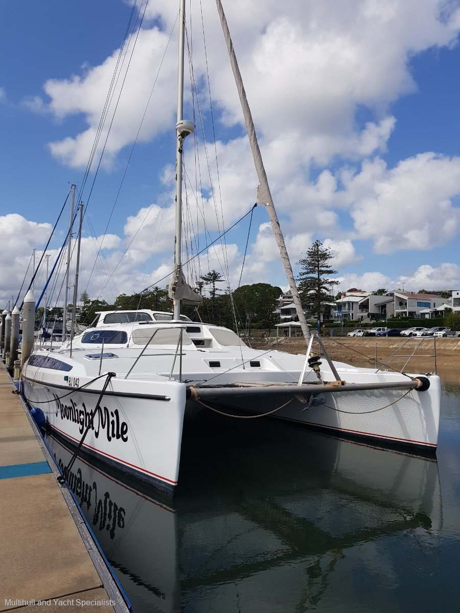 Chamberlin 12.4 m Sailing Catamaran