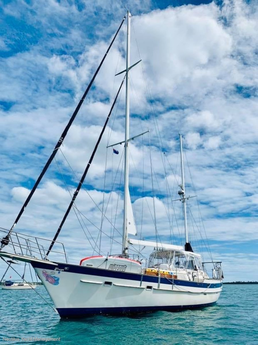 Irwin 52 Ketch MK II Built and Equipped for Unlimited Offshore Cruising