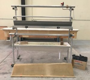 ATL BOAT BUILDERS RESIN/CLOTH WET-OUT MACHINE (Impregnator)