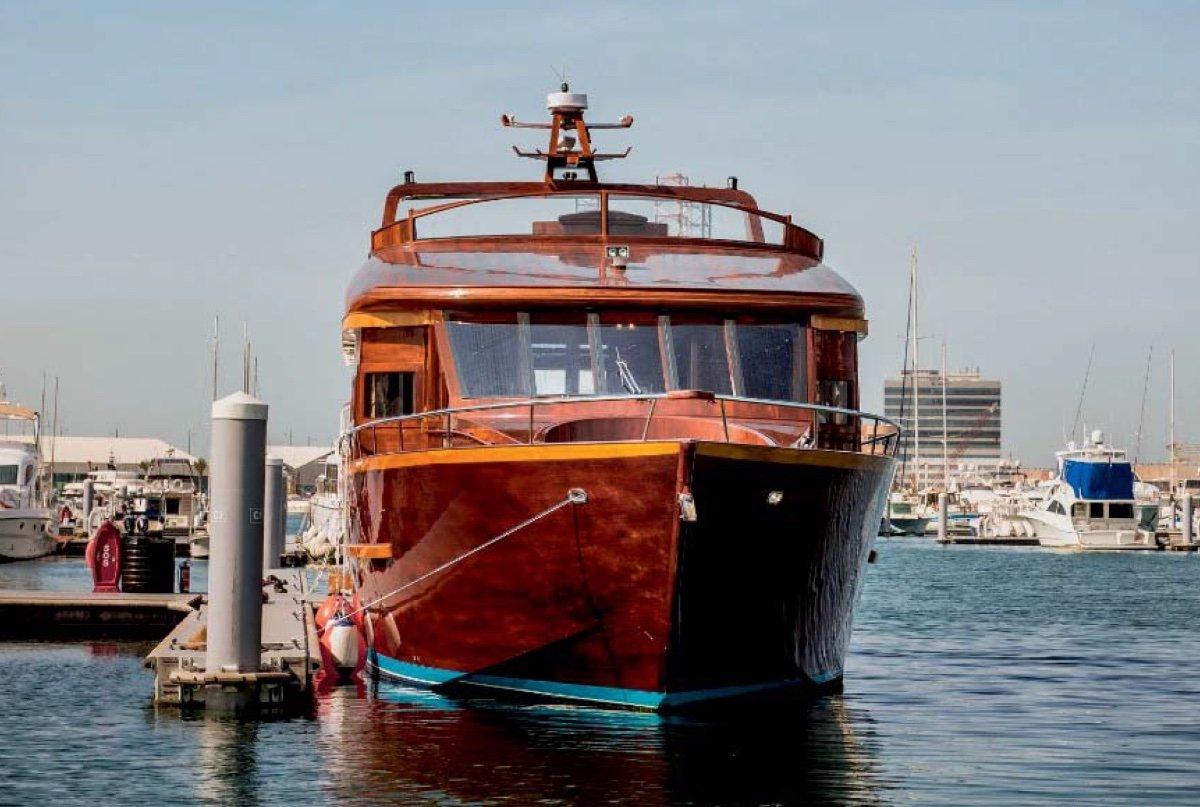 22m Luxury Wooden Yacht