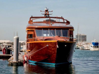22m Luxury Wooden Yacht