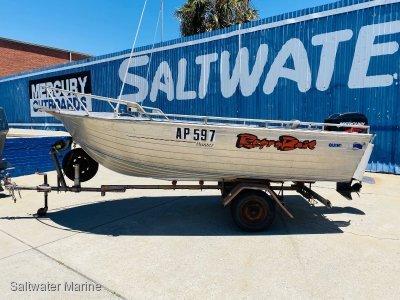 Quintrex 450 Hunter Big Open Deck Boat!!