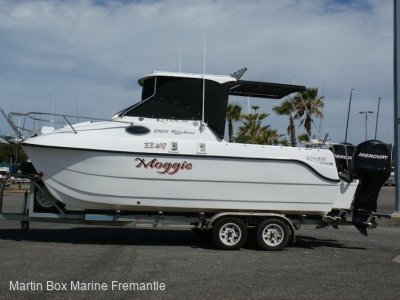 Kevlacat 2100 Offshore (One Owner, Low hours)