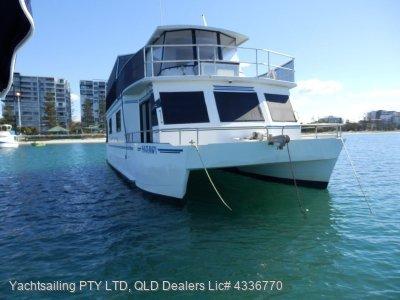 Eagle Catamaran Coastal Cruiser specialised design coastal cruiser