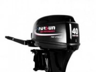 NEW Parsun 40BWL 2-Stroke Tiller Control Outboard