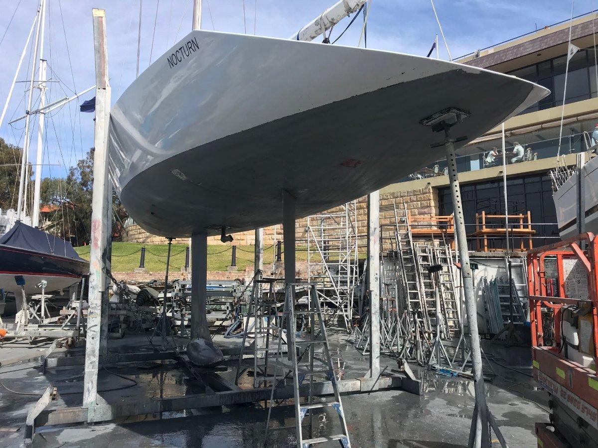 Murray Burns & Dovell 48 Race Yacht