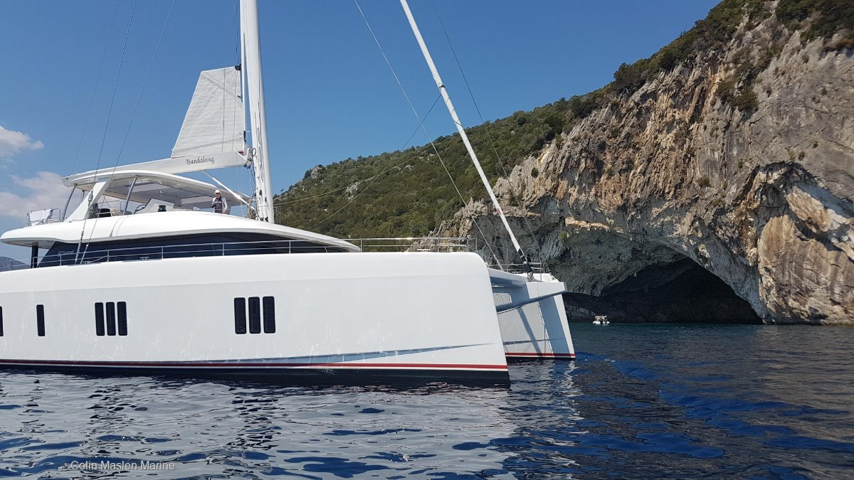 Sunreef Yachts 80:Croatia Caves