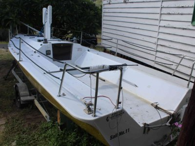 Sports Sail Boat 8 metre Kevin Costin design