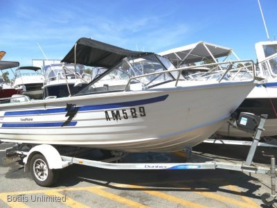 Quintrex 475 Coast Master GREAT FAMILY PACKAGE WITH 4 STROKE BOAT FORSALE