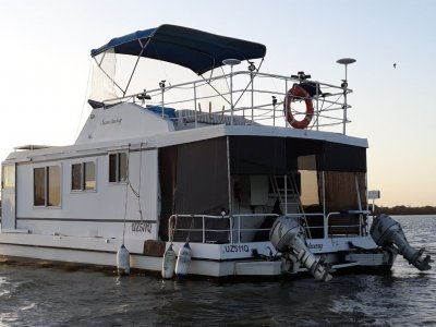 Homecruiser Houseboat 40Ft Grp/ Fibreglass Houseboat, Homecruiser.