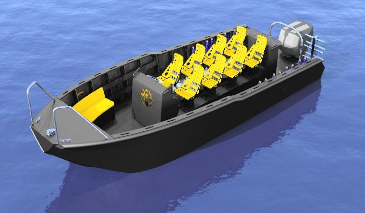 7.65m Dive Boat
