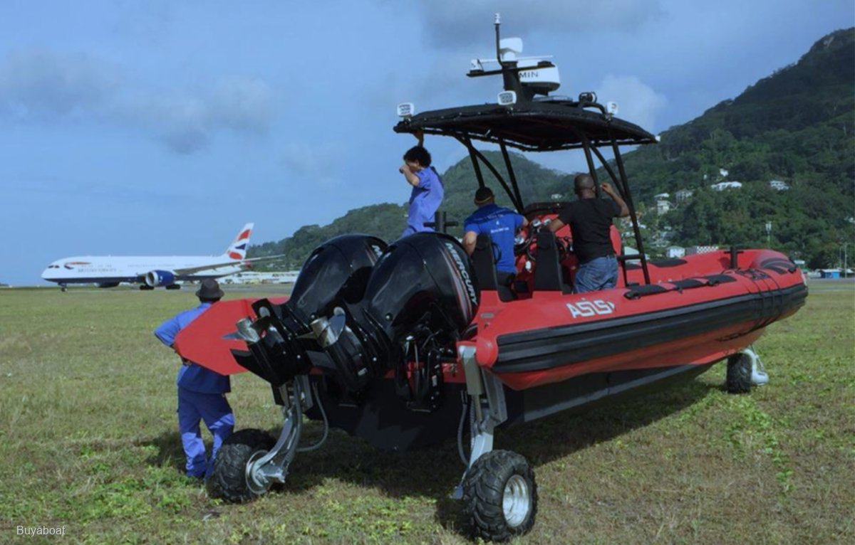 Asis 7.1m, 8.4m and 9.8m Amphibious Range