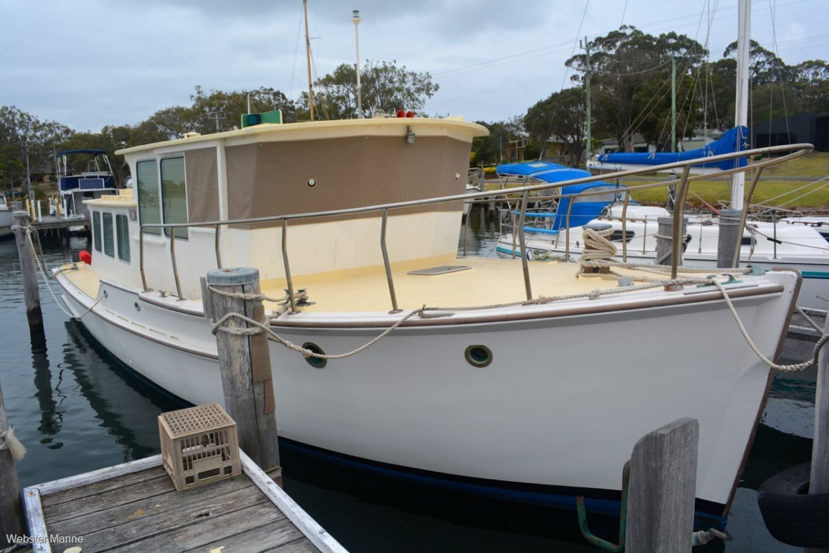 Custom Timber Converted Army Workboat 40'