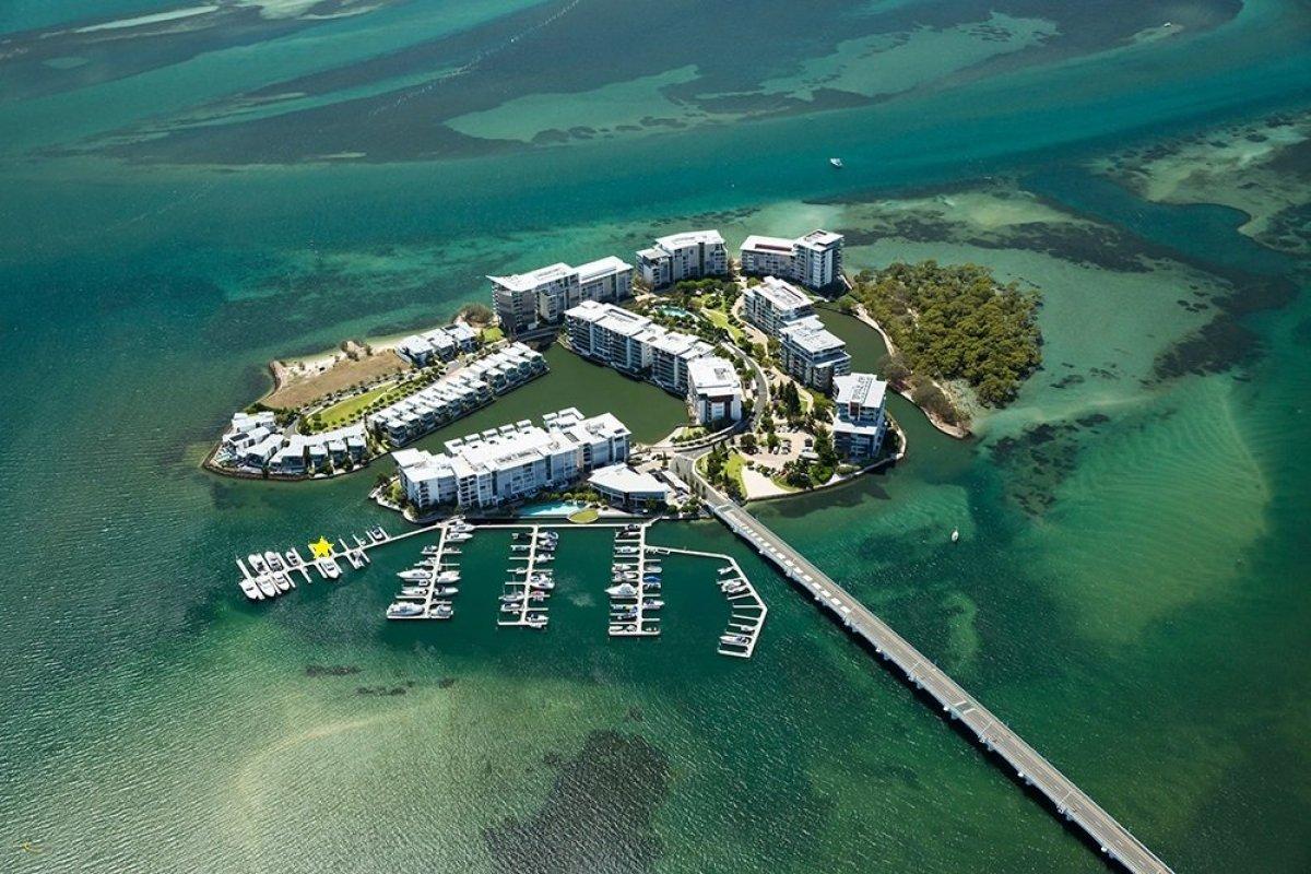 Exclusive18m Marina Berth Ephraim Island (North of Gold Coast) 18m x 6.7m