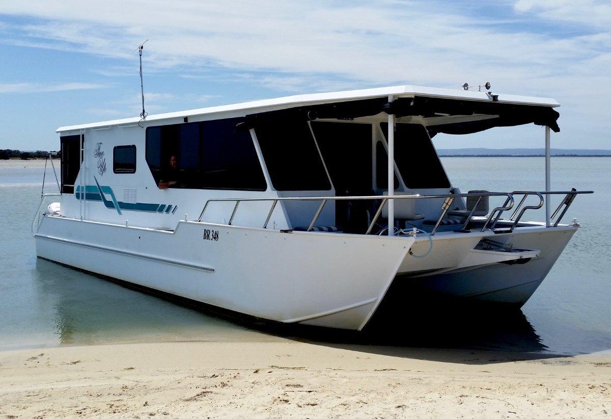 Custom Catamaran Houseboat Two Up