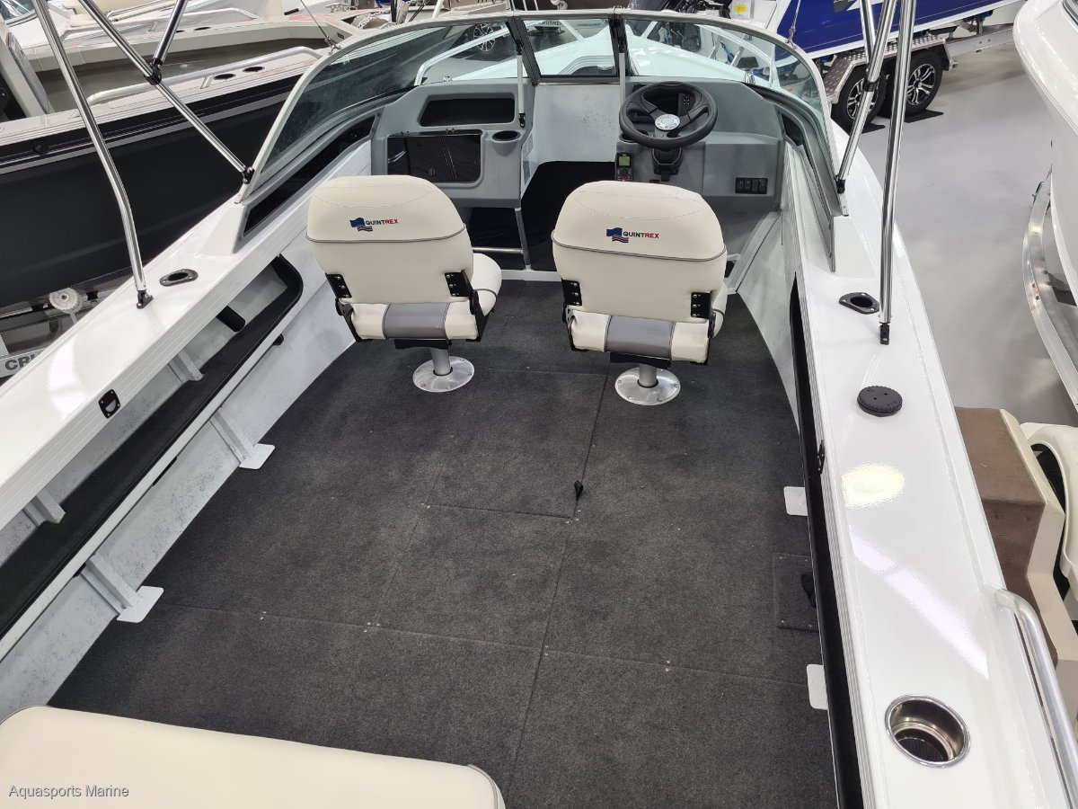 New Quintrex 500 Fishabout Pro