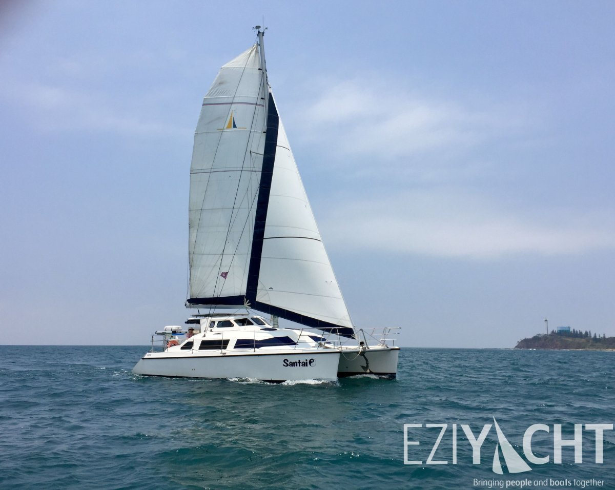 Simpson Inspiration 11 - 2013 Coastal and Offshore Cruising Catamaran