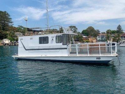 Hirondelle Houseboat Custom DEPOSIT TAKEN