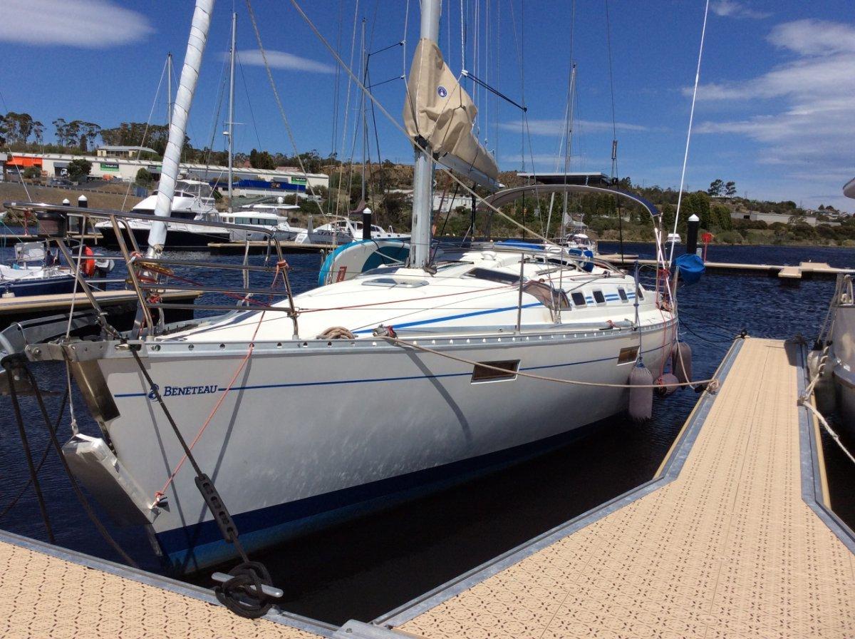 Beneteau Oceanis 370:New boom bag