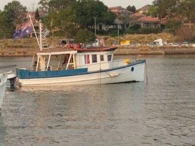 CHB Trawler 34