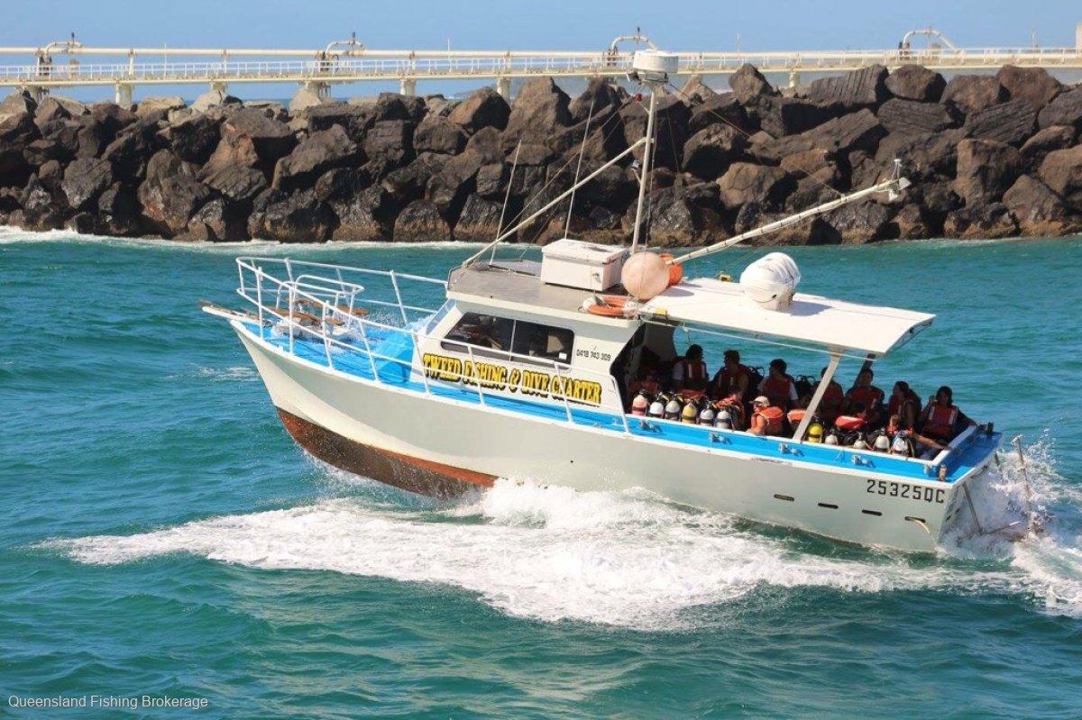PB43 Ex- Charter Fishing Vessel