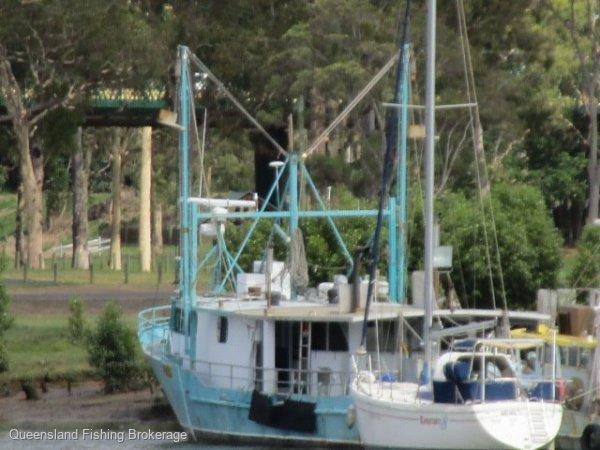 LV271 - Steel Trout Boat