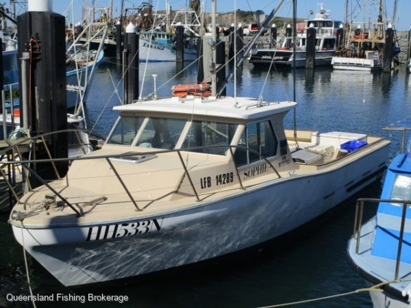 Steber 34 LV272 - Fiberglass Line/Crab Vessel