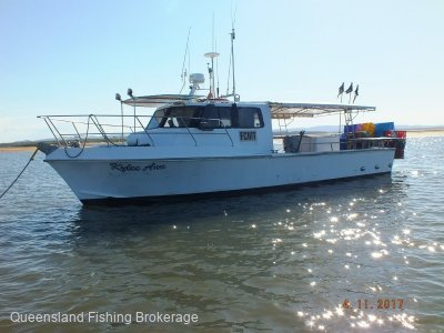 Chivers LV283 Commercial Fishing Vessel & Licence Package