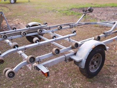 Jetski double/tandem trailer