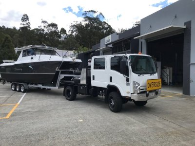 Cougar Cat Truck and boat COMBO