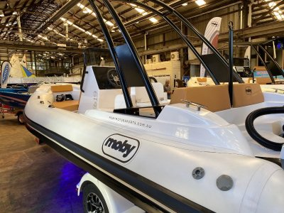 Moby RIB Luxrib19 Powered with 130 HP Yamaha $66,490.00