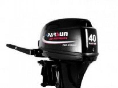 NEW Parsun 40BWL 2-Stroke Tiller Control Outboard