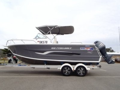 Quintrex 610 Fishabout Aluminium runabout, suit Stacer, Savage, Stessco,