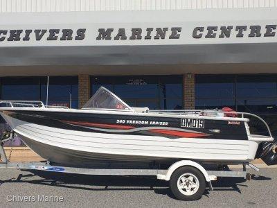 Quintrex 540 Freedom Cruiser Bowrider | MerCruiser 3.0