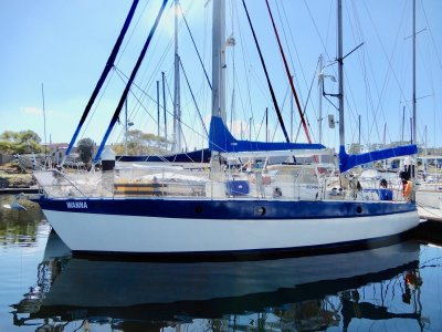 40FT STEEL SERIOUS BLUEWATER CRUISER