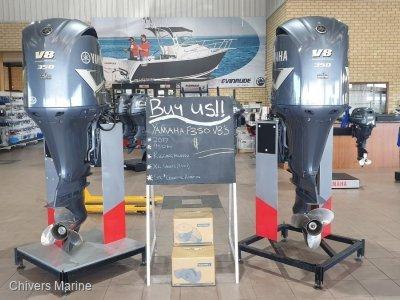 Yamaha F350 Twin Fourstroke 5.3l V8's