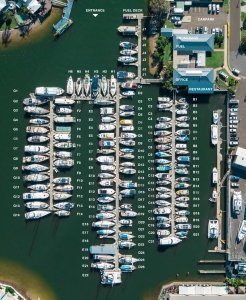 9 METRE BERTH B12 AT KAWANA WATERS MARINA
