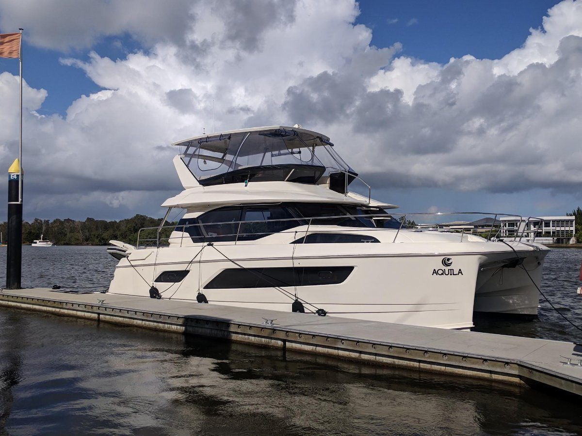 Aquila 44 Power Catamaran - Boat Share Syndicate
