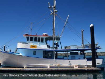 Carvel 55 Trawler Commercial Fishing Vessel