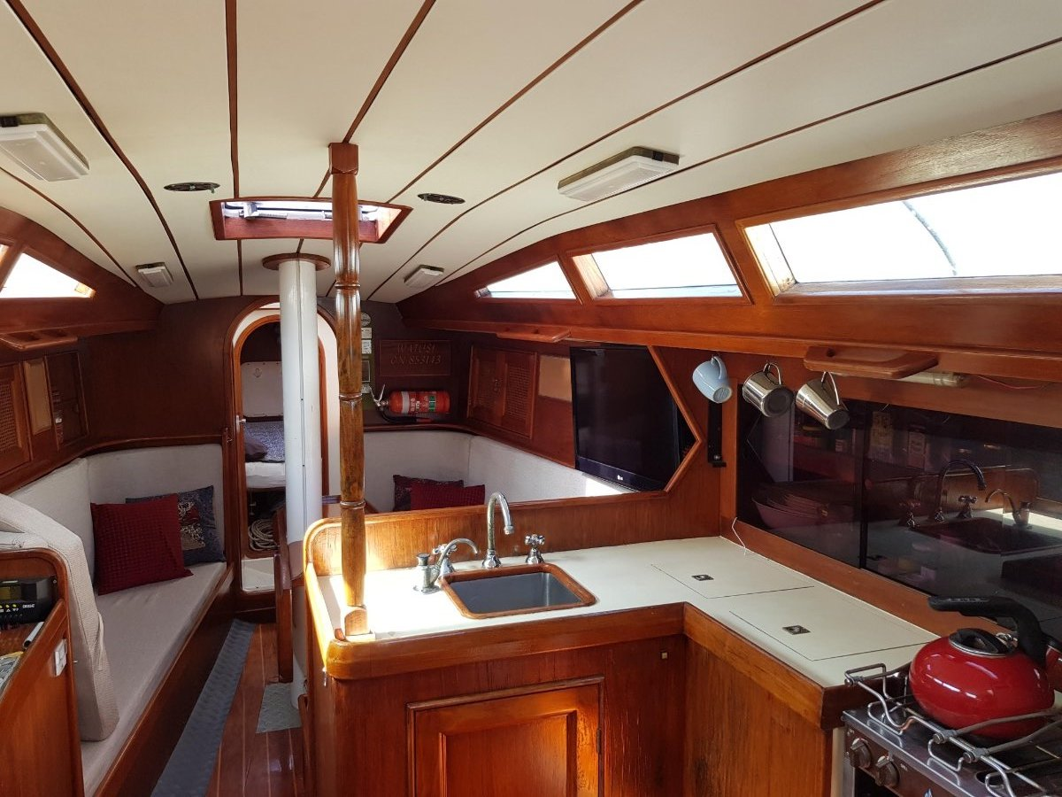 Adams Radford 45 Fast Bluewater Cruiser