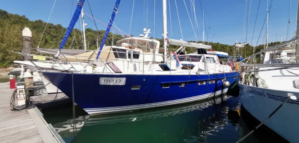 Seahorse Mandarin 52 ft Motor Sailor for Sale in Langkawi, Malaysia:Seahorse Yacht for sale in Langkawi
