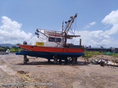 TS407 8.56m Steel Trawler